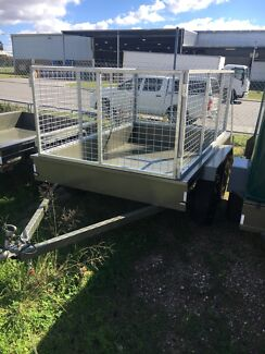8x5 tandem trailer with cage Malaga Swan Area Preview
