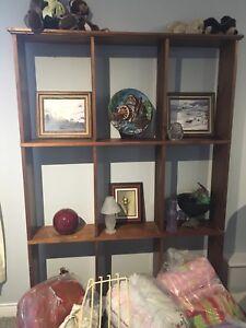 wardrobe/ storage unit 60, curio 100