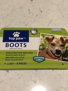Top Paw Dog Boots Sz Sm