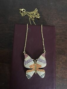 New butterfly Necklace