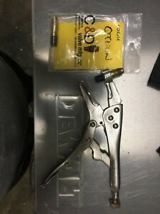 Clamp piercing tool for refrigeration work