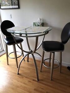Bistro table set with  2 chairs