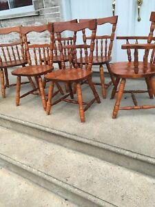 6 chaises/chairs