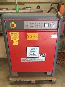 Pilot K50 Air Compressor Oakville Hawkesbury Area Preview