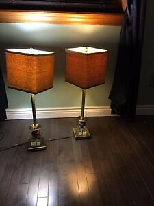 2 large lamps from winners obo