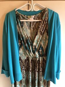 WOMENS DRESS AND SWEATER