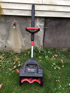 Jobmate 7a electric snow thrower