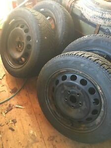 Vw Jetta rims 205/55/16 tires