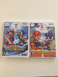 Mario and Sonic Winter and Summer Olympics Wii