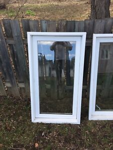 Used windows good for hunting camp