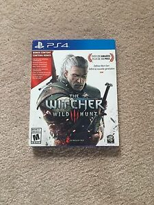 PS4 Game The Witcher 3