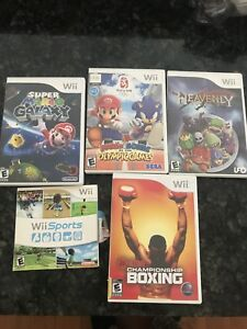 Set of 5 mixed Nintendo Wii games for just $40