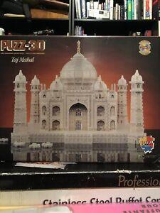 Puzz-3D Taj Mahal - 1077 piece puzzel - pkg factory sealed