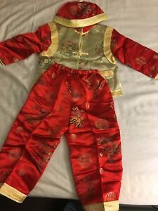 Chinese traditional outfit for boys size 4 fit 3-5 years