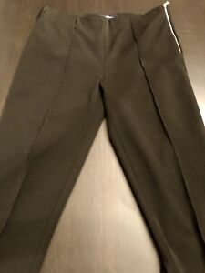 GAP Skinny Stretch Side Zip Dress Pant with zip bottoms.