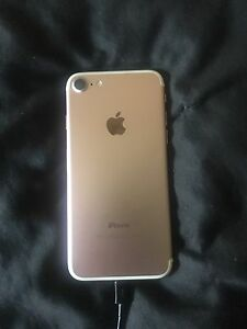 Unlocked iPhone 7 256gb rose gold mint condition