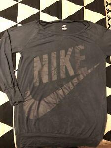 Nike ladies shirt large , women active wear pant