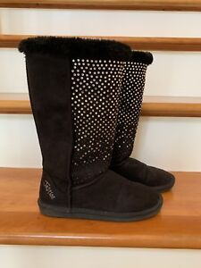 Girl's Justice size 5 winter boots