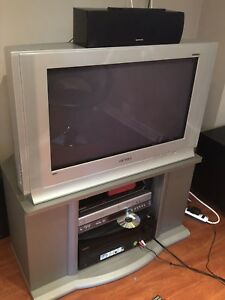 TV WITH TV STAND FOR SALE