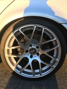 "BMW 19""rims and tires"