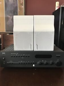 Nad receiver and Bose speakers