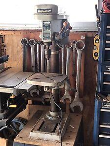 Mastercraft drill press