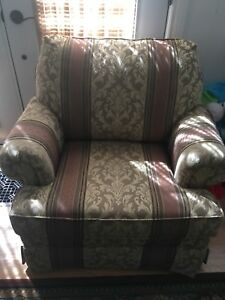 Very comfortable sofa and chair.