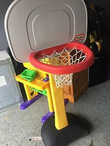 Little Tikes basket ball net with stand