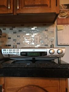 Under cabinet CD player