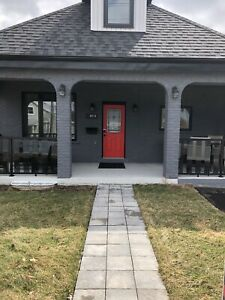 4-plex or airbnb or large family home with income