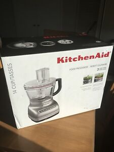 Kitchen Aid 14 cup food processor (brand new)