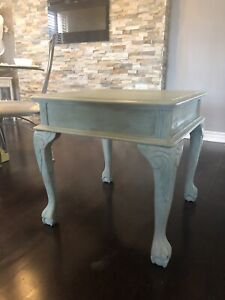 Beautiful Dragon Claw Wood Antique Table