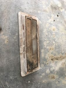 Cast iron Fire place damper. In great condition