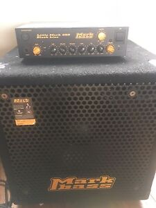 Mark bass cab and head 250 watt