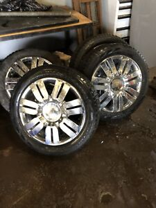 """Mkx Lincoln or Ford Edge 20"""" wheels"""