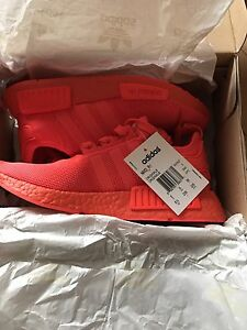 Triple red nmd (size 5.5 men)