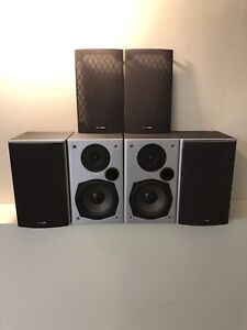 4 Speakers, sub and receiver