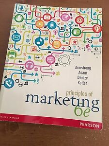 Principles of Marketing 6th edition Wantirna South Knox Area Preview