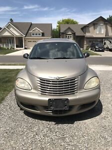 2004 PT Cruiser GT, 2.4L turbo 5-speed manual, as-is