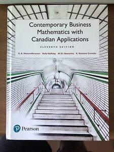 Contemporary Business Mathematics with Canadian Applications 11