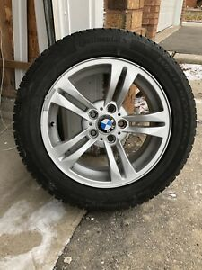 BMW 3 Series winter tires with original Rims