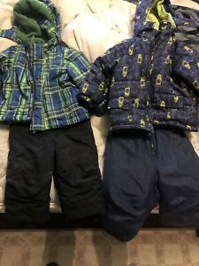 Boys snow suit 18/24 and size 2