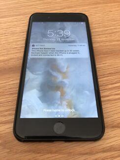 iPhone 7 Plus 128 GB Matt black great condition