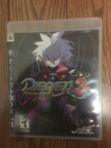 Selling Disgaea 3 Absence of Justice Ps3