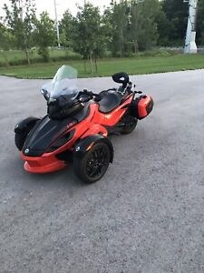 2012 Can Am spider RS-S