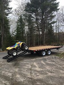 NEW 2017 Canada Trailer 16' Deck Over