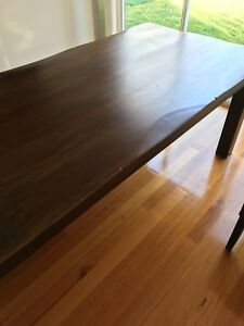 Dining table - solid quality hardwood