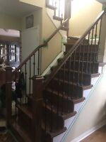 Stairs , Hardwood And Laminate