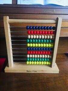 Wooden Abacus -Melissa and  Doug