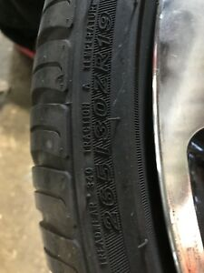 4 almost new tires in mint condition,